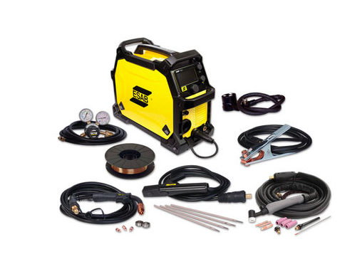 ESAB REBEL EMP 215ic MIG/TIG/STICK PACKAGE