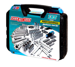 CHANNEL LOCK 132 PC. MECHANIC'S TOOL SET