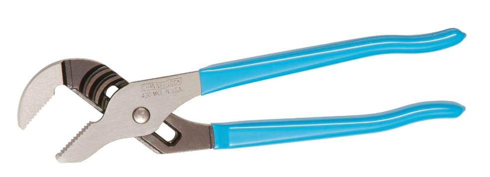 "CHANNEL LOCK BIG AZZ 10"" STRAIGHT JAW TONGUE & GROOVE PLIER"