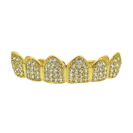 Grillz Platinum Teeth Custom Style