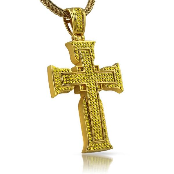 Lemonade Designer Bling Bling Cross