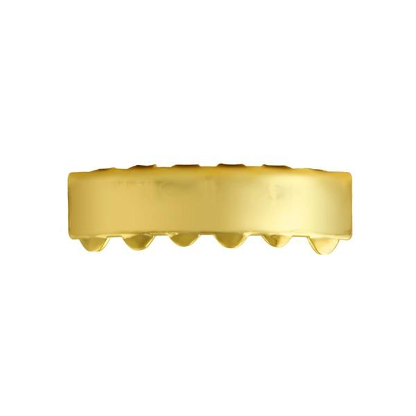 Gold Bar Grillz Bottom