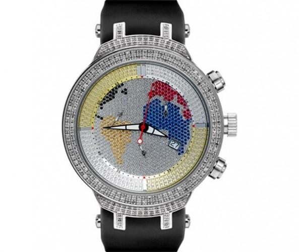 World is Mine Joe Rodeo Diamond Watch 2.20ct