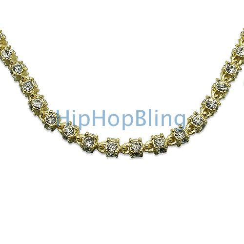 3D Gold Bling Bling Chain