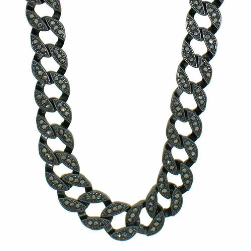Miami Cuban Chain Black