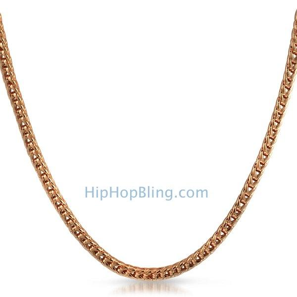 Rose Franco 4mm 36 Inch Hip Hop Chain