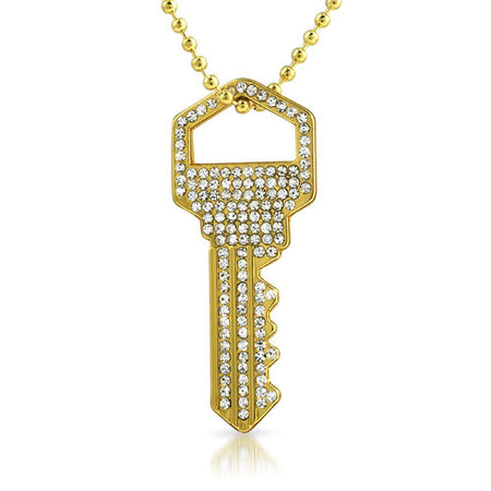 10K Gold Handgun Pendant .20cttw Diamonds