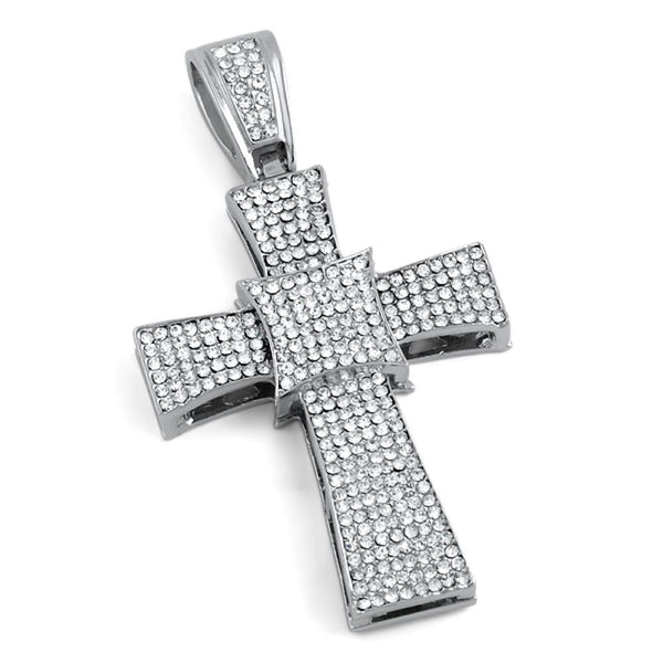 Kite Bling Bling Cross Pendant