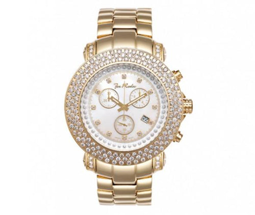 6.00ct Triple Diamond Bezel Golden Joe Rodeo Watch