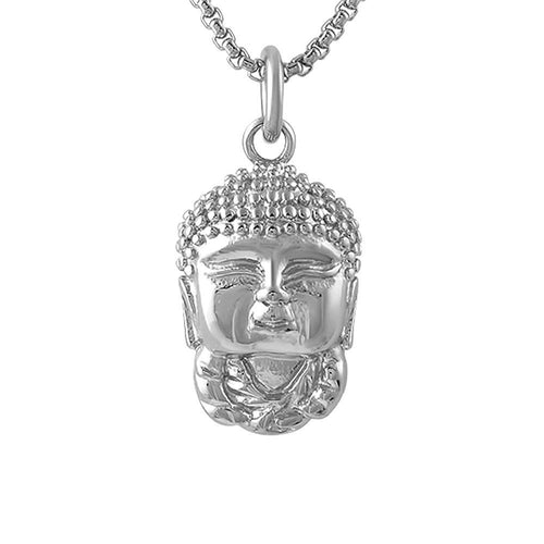 Baby Buddha Pendant Stainless Steel