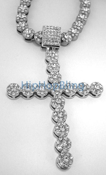 Cluster Bling Bling Cross Bling Chain Combo