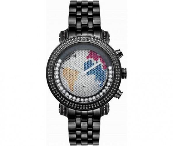 World is Mine Floating Black Joe Rodeo Watch 1.75ct