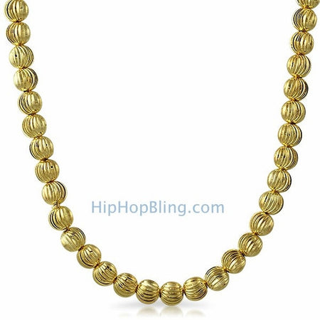 3mm Foxtail Franco Gold Hip Hop Chain