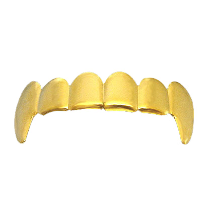 Vampire Fang Gold Grillz Top