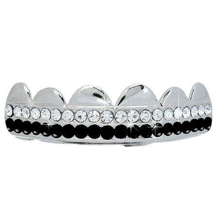 Black Grillz Shiny Top Teeth