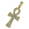 Gold Bling Bling Ankh Cross Special