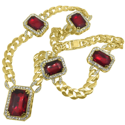 Gold Cuban Gem Chain Special