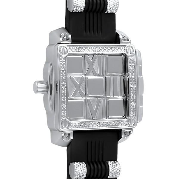 Slide Out Silver Hip Hop Fashion Watch