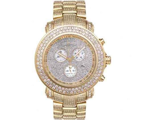 19.50ct Full Diamond Golden Joe Rodeo Watch