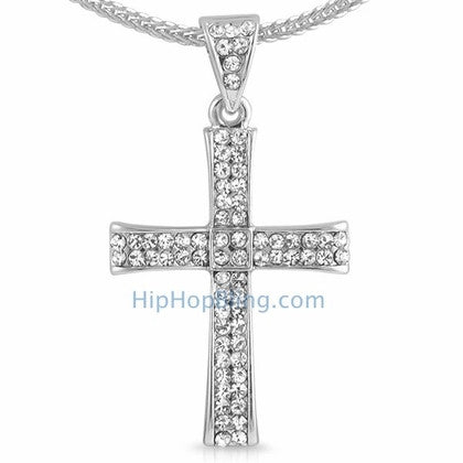 Curl Bling Cross & Chain Small