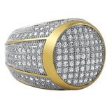 President Gold CZ Bling Bling Ring