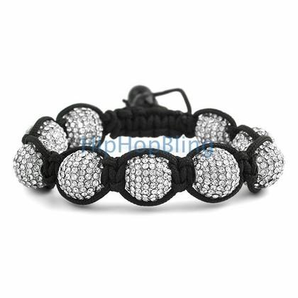 14mm Jumbo Disco Ball Bling Bling Bracelet