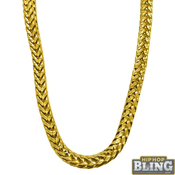 Foxtail Franco 5MM Gold Hip Hop Chain