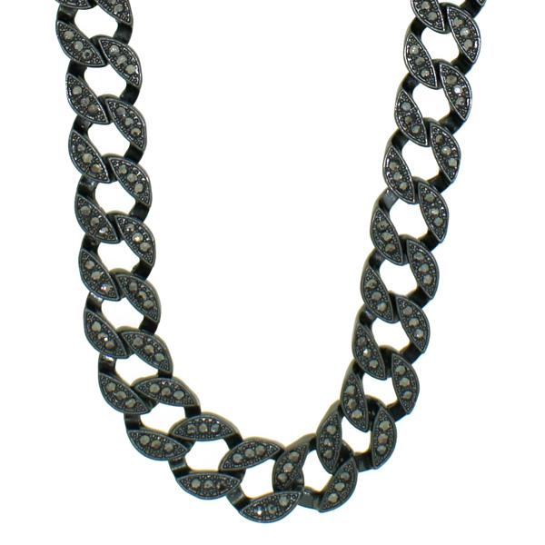 Bling Bling Miami Cuban Chain Black