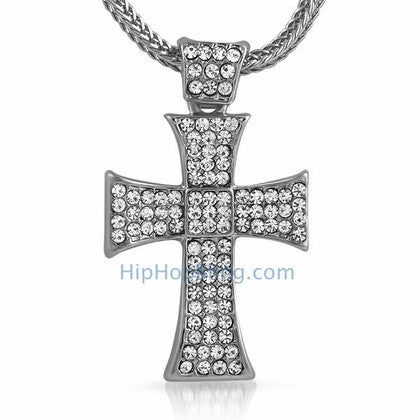 Hatchet Bling Bling Cross & Chain Small