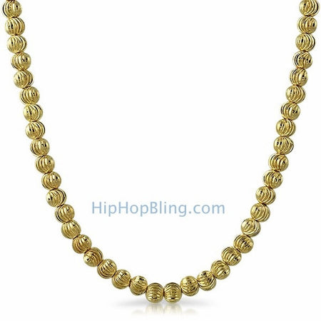 3D Lemonade Canary Gold Bling Bling Chain