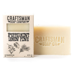 Bar Soap, Peppermint Lemon Pine