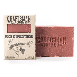 Bar Soap, Rose Geranium