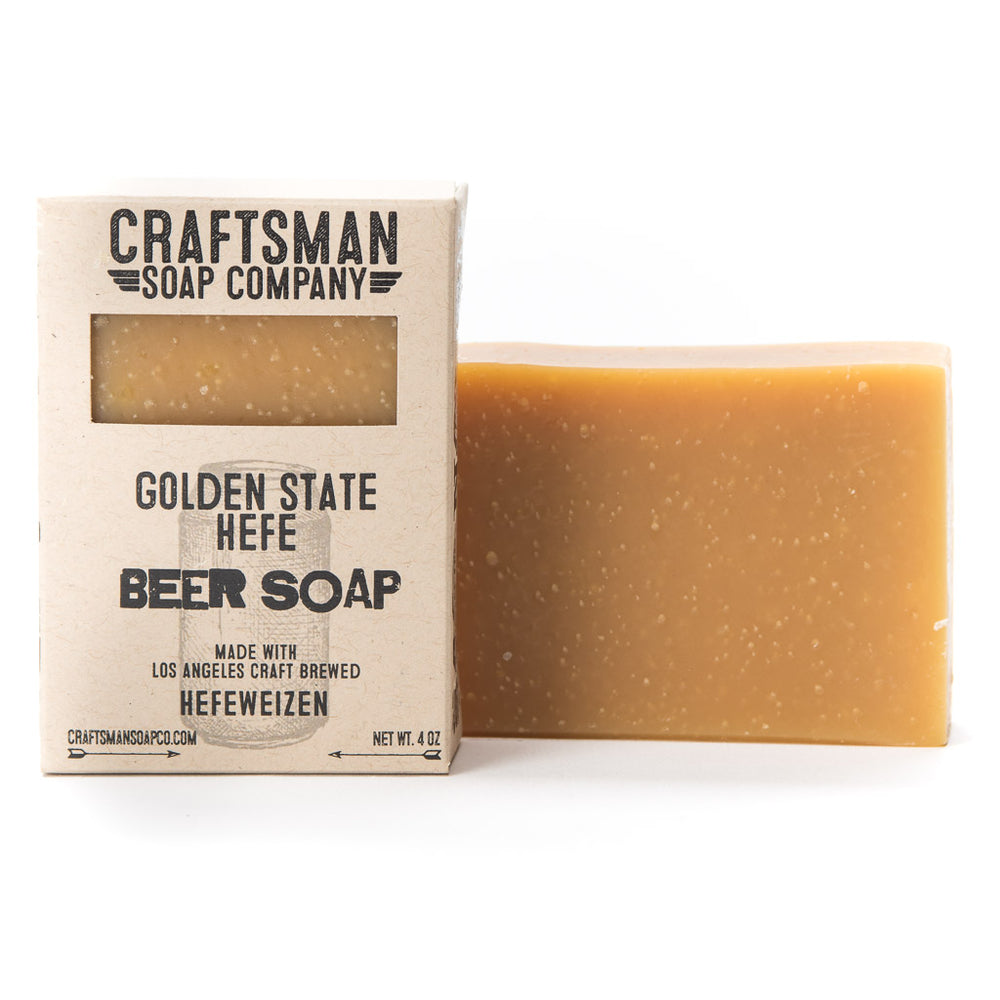 Beer Soap Gift Set, Four Bars. Natural Soap, Handmade in California.
