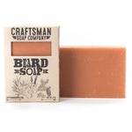 Beard Soap, All-Natural Handmade Bar Soap with Tea Tree, Cedar, Lavender & Spruce