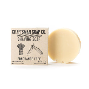 Shaving Soap, Fragrance Free
