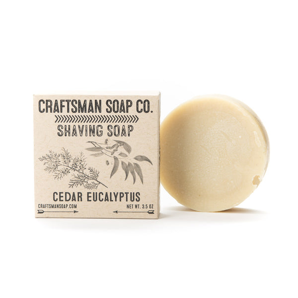 Shaving Soap, All-Natural & Handcrafted