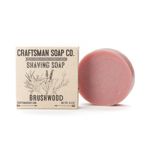 Shaving Soap, Brushwood