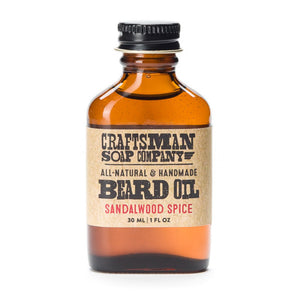 Beard Oil, Sandalwood Spice