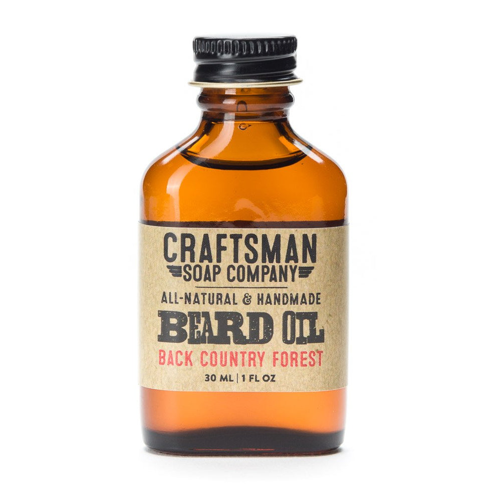 Beard Oil, Back Country Forest