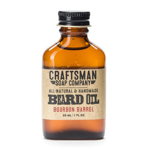 Beard Oil, Bourbon Barrel