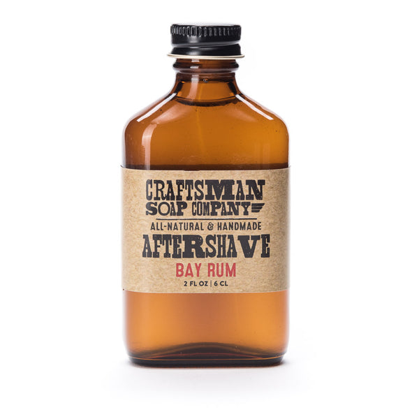 Bay Rum is a classic spicy essential oil aftershave with a splash of lime, made with a perfumers alcohol & aloe base.