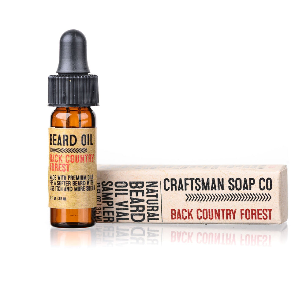 Travel-Size Beard Oil, Back Country Forest