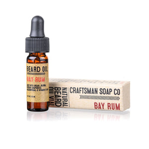 Travel-Size Beard Oil, Bay Rum
