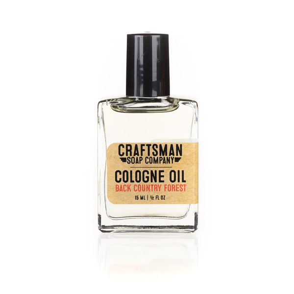 Cologne Oil, Back Country Forest