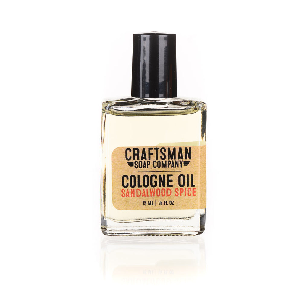 Cologne Oil, Sandalwood Spice
