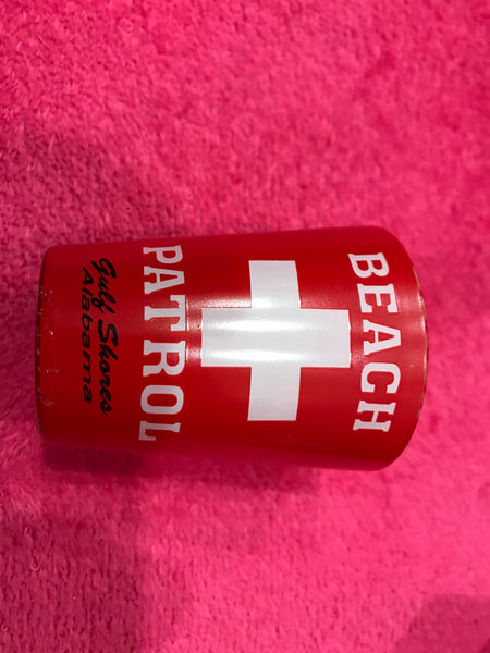 Beach Patrol Shot Glass