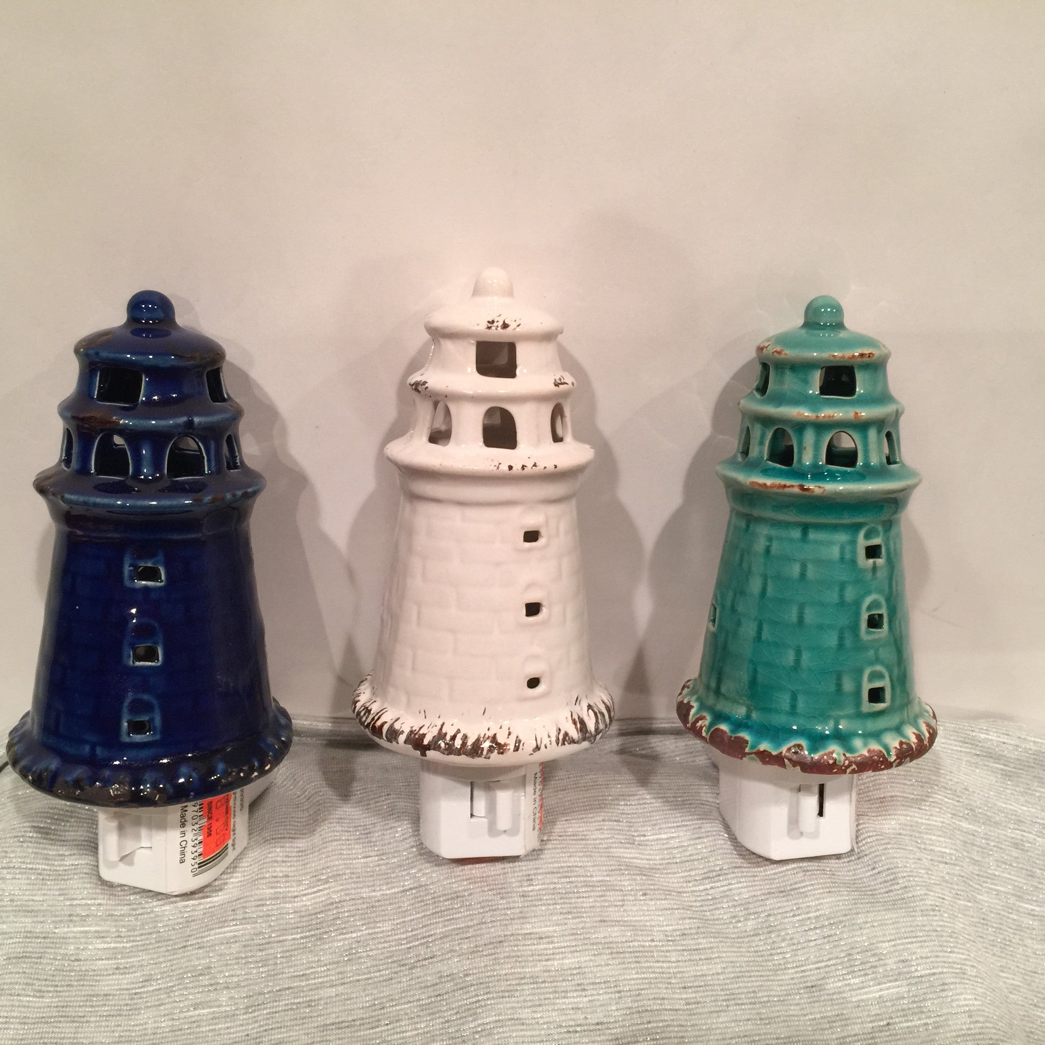Ceramic Lighthouse Nightlite