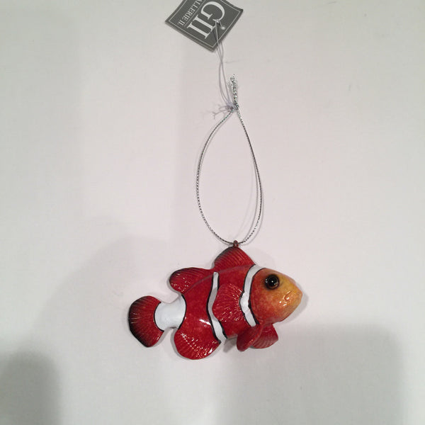 Clownfish Christmas Ornament