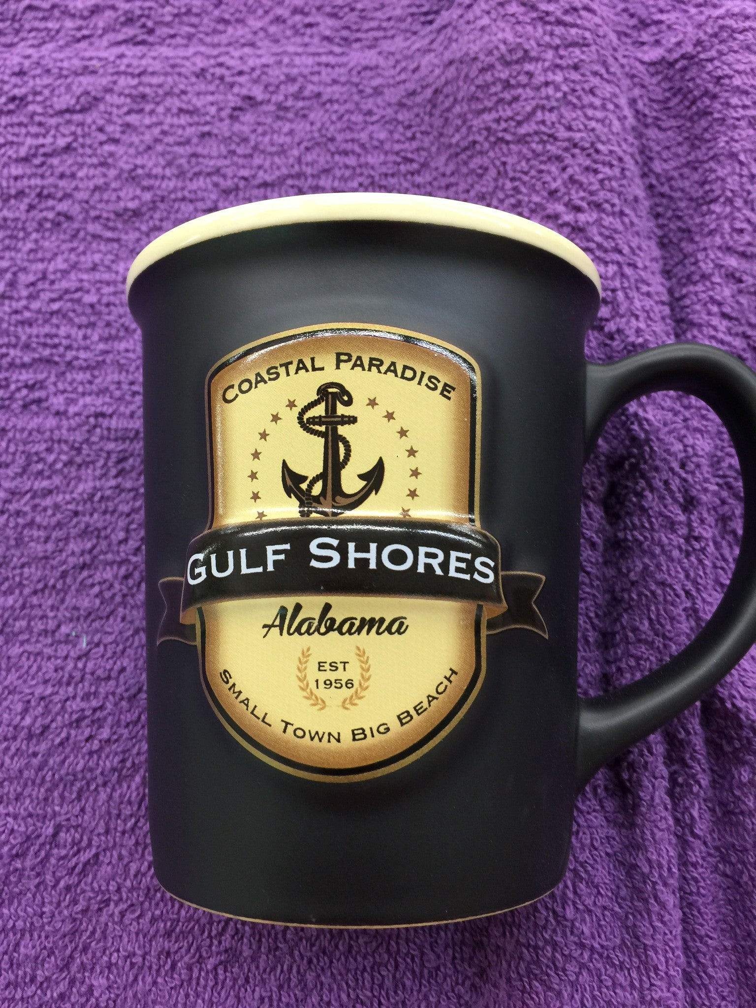 Black Anchor Gulf Shores Coffee Cup