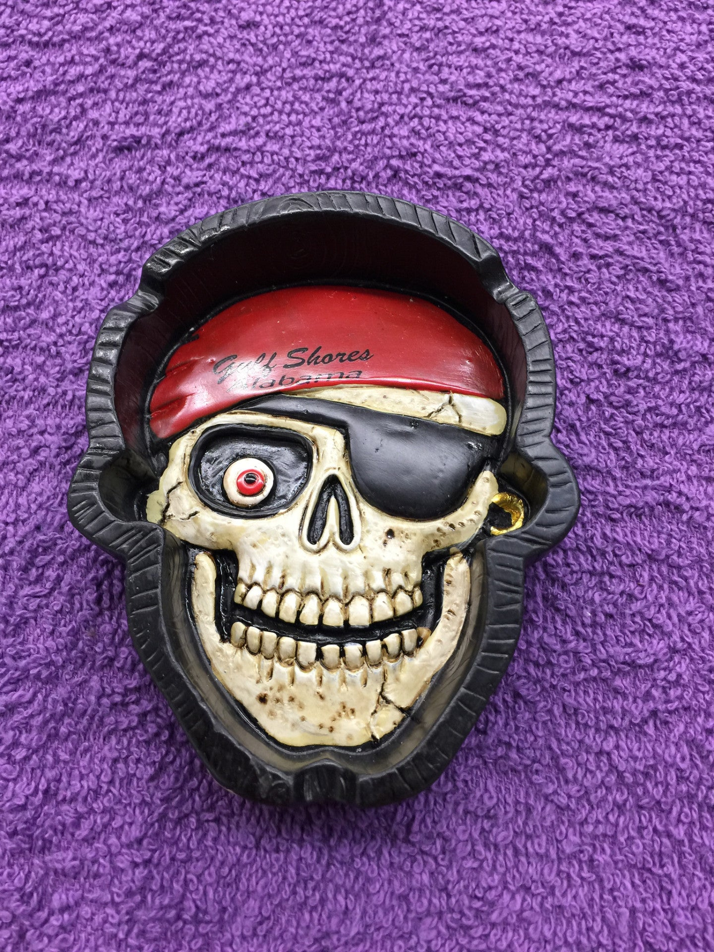 Pirate Skull Ashtray
